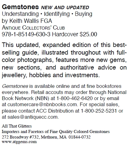 Gemstones - Understanding, Identifying and Buying:  flyer back