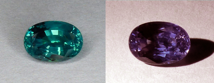 GIA Certed Fine Natural Alexandrite