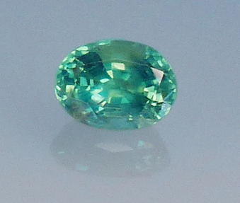natural alexandrite - green