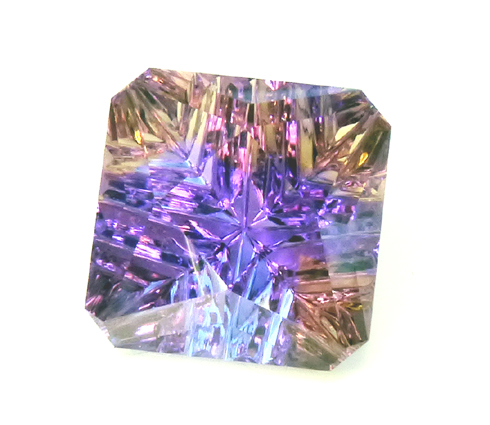 special Ametrine - custom faceted