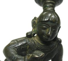 indian bronze shiva, 18th C