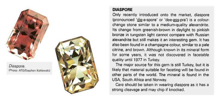 published color changing turkish diaspore