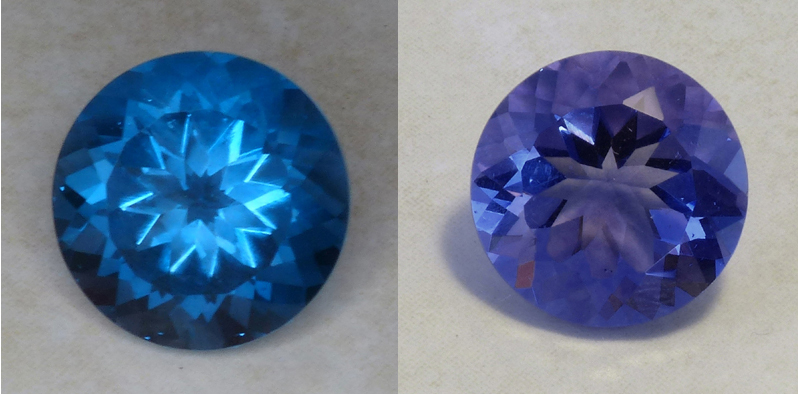 large round color change fluorite