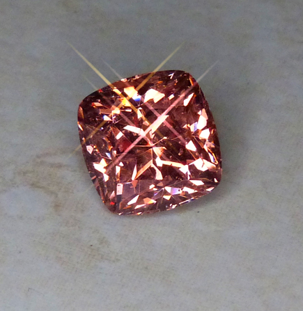 orangy mahenge garnet, US faceted