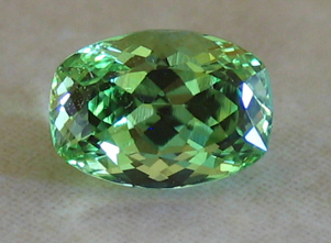 Brilliant Mint Merelani Grossular Garnet