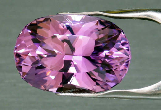 faceted california kunzite