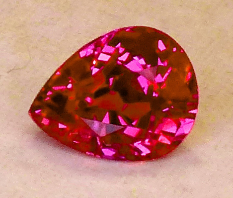 unheated 1.10ct ruby (certed)
