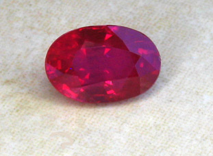 certed mozambique ruby