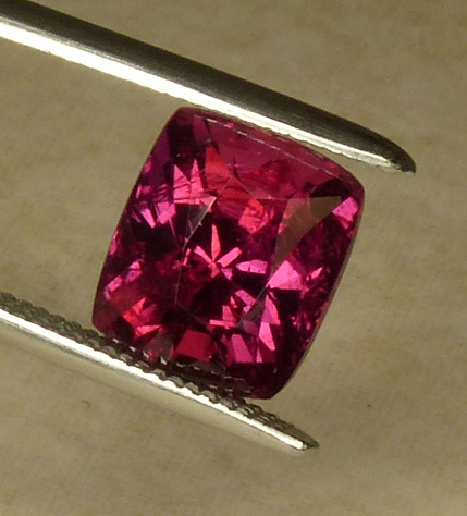 unheated 2.05ct Ruby with cert