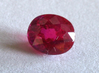 certed burmese ruby