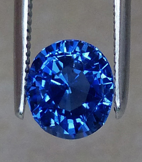 certed blue sapphire - unheated