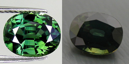 enhanced ebay green sapphire photo