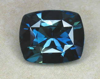 blue sapphire recut by master facetor