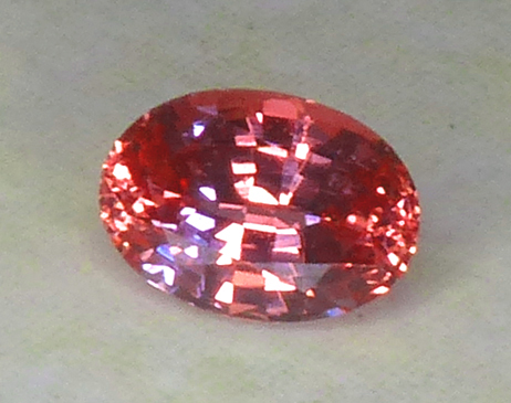 GIA Certed Unheated Padparadscha (PAD) Sapphire