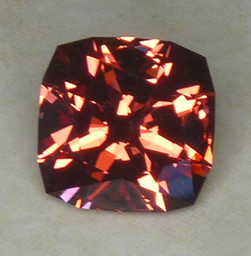 fine orange spinel from burma
