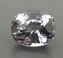 clear spinel