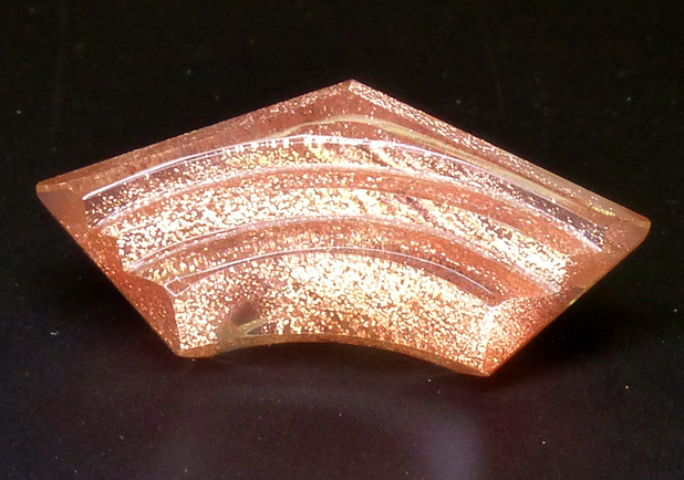 carved oregon sunstone with copper schiller