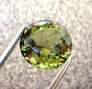golden green tourmaline