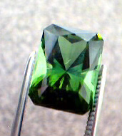 deep green tourmaline