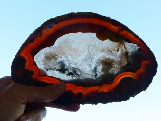 Natural Agate Slice (Tabajaran Mine)