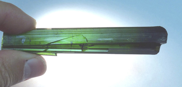 cruzeiro mine tourmaline crystal