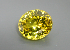 published yellow chrysoberyl
