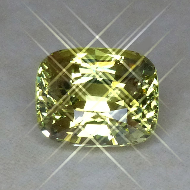 yellow chrysoberyl