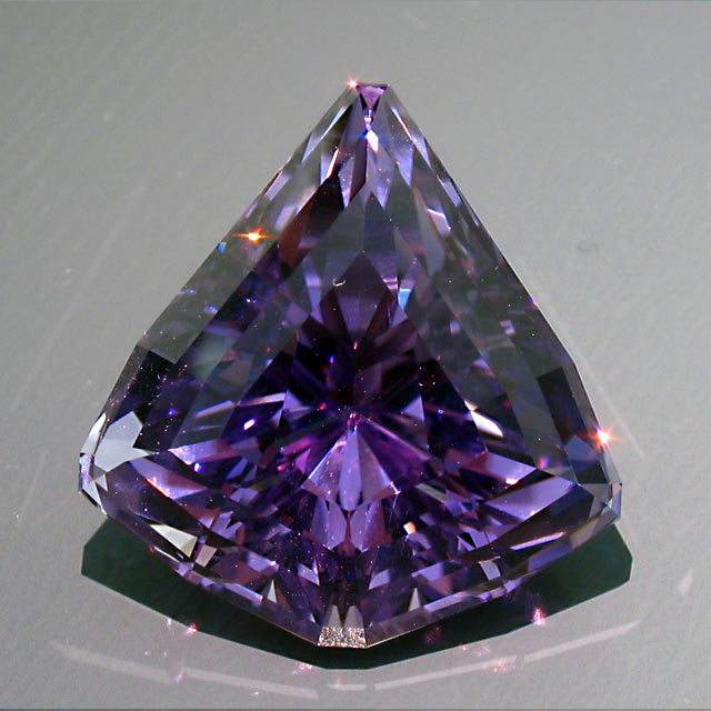 CA Kunzite custom cut