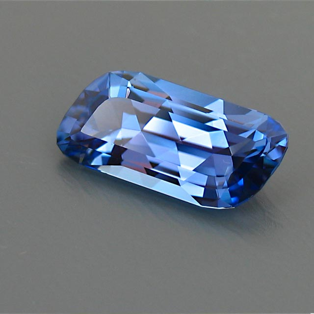 tanzanite custom faceted