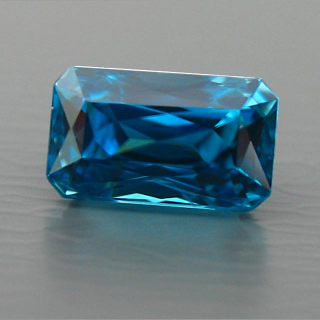 super blue natural zircon