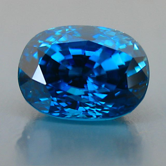 super blue rare natural zircon